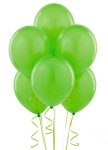 "Apple Green 48 Pcs - 12"" Birthday Wedding Party Decor Latex Balloons Ceremony Table Top Ceiling Arch Decoration"