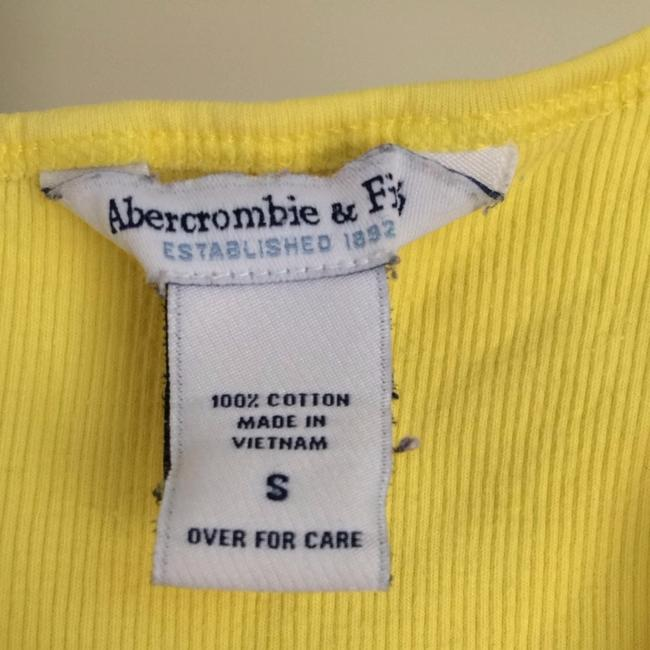 Abercrombie & Fitch Top Yellow