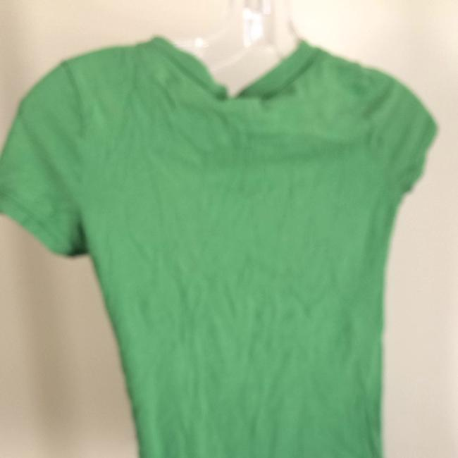 Hollister T Shirt Green