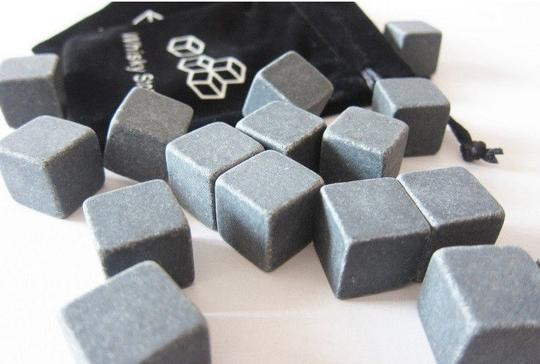 Grey 50 Boxes - 450 Pieces Whiskey Stone Wine Hard Liquor Whisky Ice Cube Cold Serving Drinks Flavor Gift Wedding Birthday