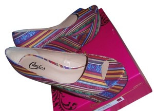 Candie's High Heel Multi Wedges