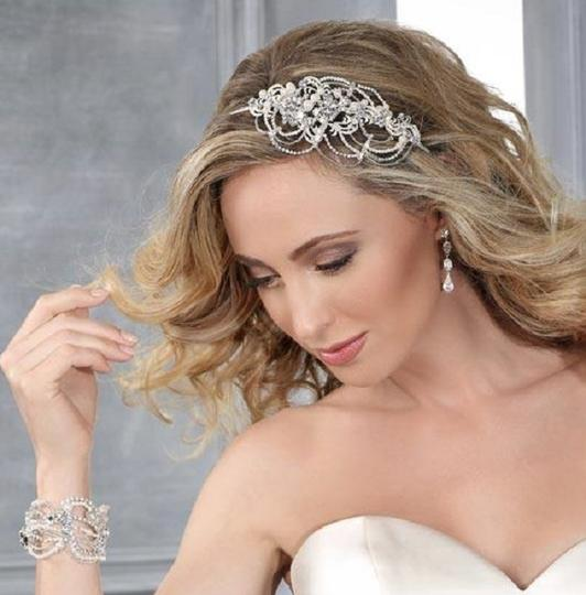Silver Side Headband Style Hair Accessory Image 1