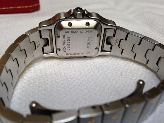 Cartier Santos #2423 Two Tone 18K Gold / SS
