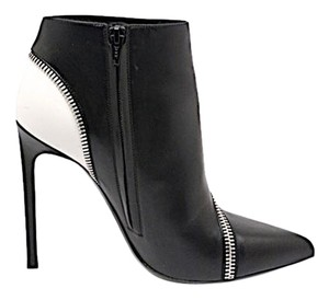 Saint Laurent Ysl Yves Black & White Boots