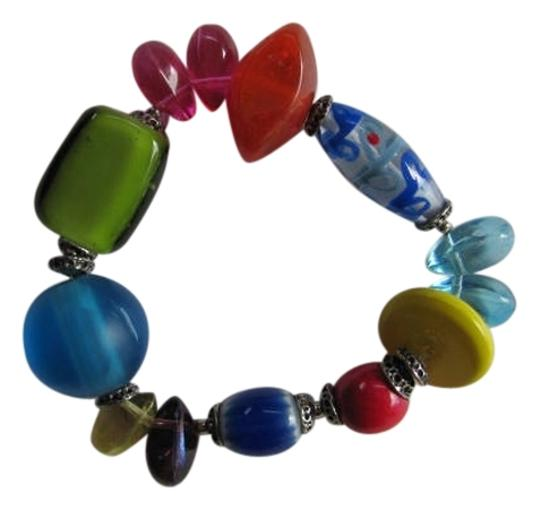 Preload https://img-static.tradesy.com/item/819060/red-blue-green-purple-pink-yellow-brown-different-size-stones-bracelet-0-0-540-540.jpg