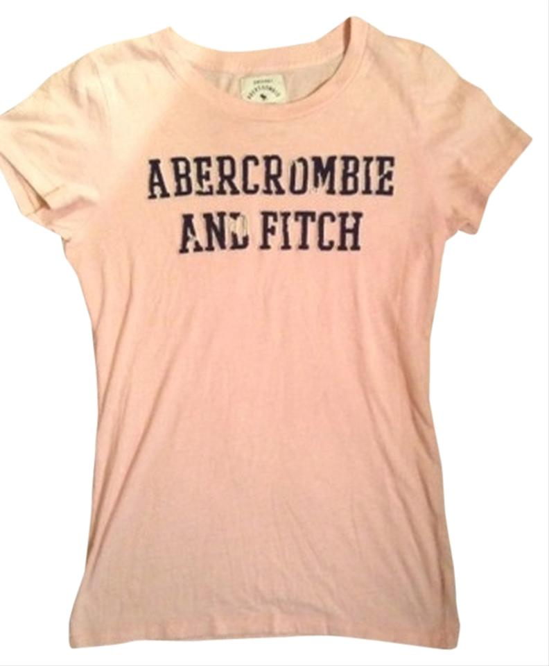 Abercrombie fitch tee shirt light pink tops tradesy for Abercrombie and fitch t shirts online shopping