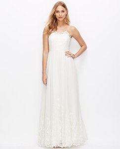 Ann Taylor Goddess Wedding Dress
