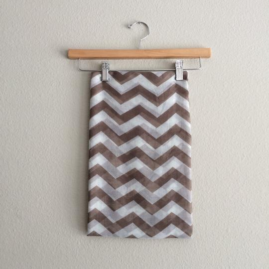 Other Brown Chevron Infinity Scarf