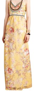 Yellow Maxi Dress by Varennes Maxi Dress Anthropologie