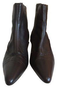 Manolo Blahnik Chocolate Brown Boots