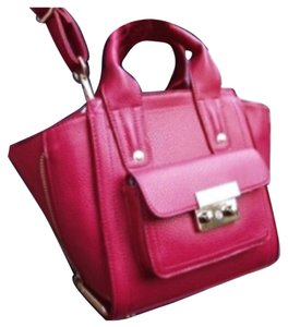 ALDO Satchel in Cranberry Red