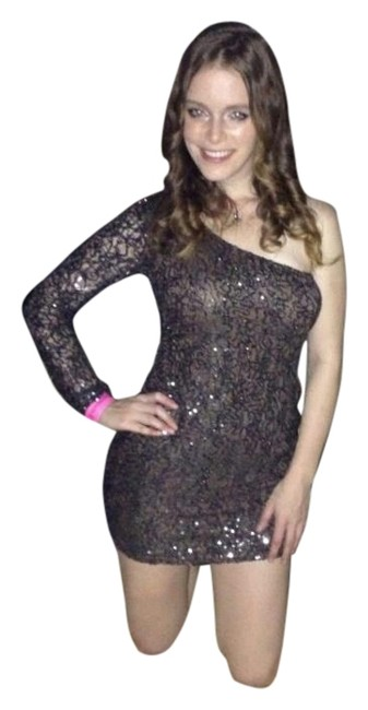 Ark & Co. Evening One Shoulder Night Out Nye Holiday Dress