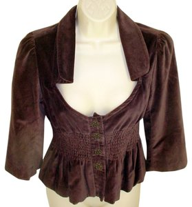 Anthropologie Brown Jacket