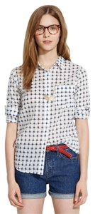 Madewell Button Down Shirt Graphic