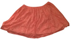 Old Navy Skirt Salmon And Cream