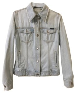 Dolce&Gabbana Light Blue Denim Womens Jean Jacket