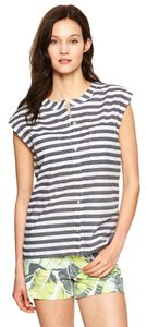 Gap Top Navy Stripe