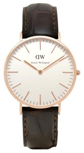 Daniel Wellington Daniel Wellington Men's 0111DW Analog Watch with White Dial