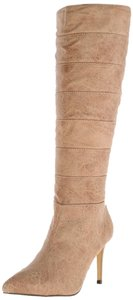 Boots Knee-high Boot Knee High Knee Natural/Black Boots