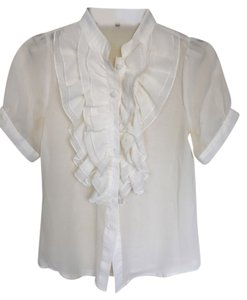 Girls Market Top white
