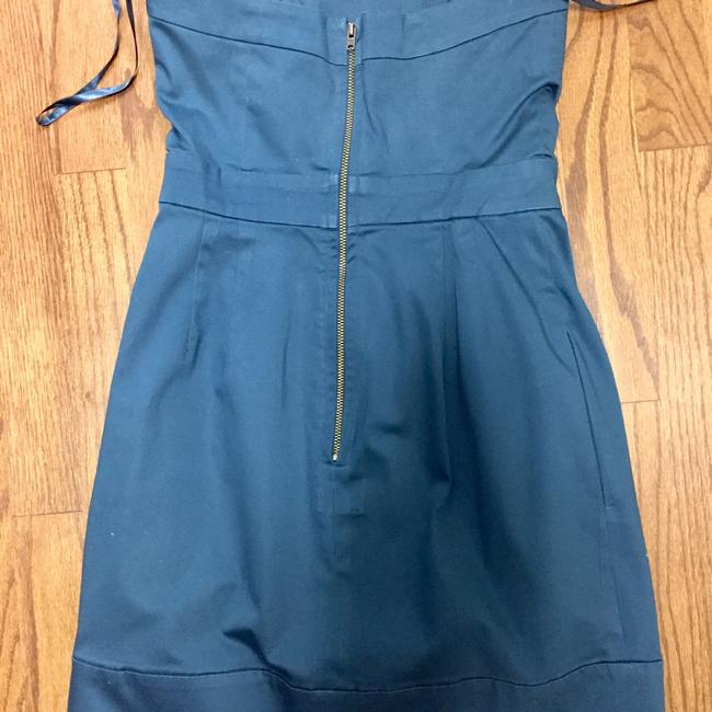 French Connection short dress Teal Strapless Daytime Minidress Above Knee on Tradesy Image 1
