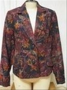 Coldwater Creek Fall Colors Blazer