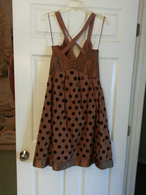 Catherine Malandrino short dress Brown with Black on Tradesy Image 1