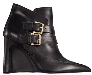 Derek Lam Wedge Black Boots