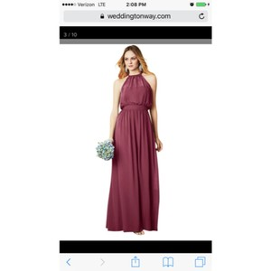 Alfred Angelo Mahogany Dress