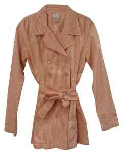 Frenchi Orange Stripe Jacket