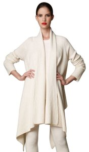 Donna Karan Dkny Cashmere Cashmere Open Front Coat Long Cozy Sweater