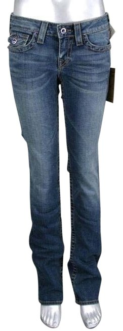 True Religion Straight Pants Blue Image 0