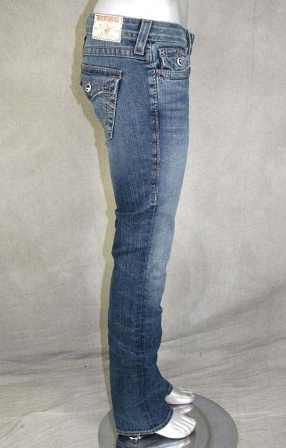 True Religion Straight Pants Blue Image 1