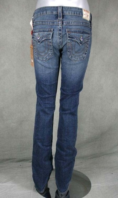 True Religion Straight Pants Blue Image 2