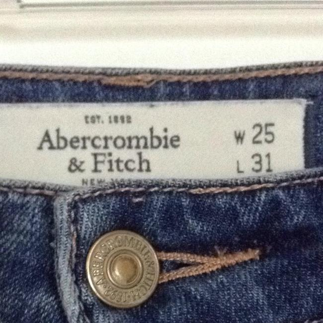 Abercrombie & Fitch Straight Leg Jeans-Medium Wash