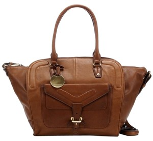 Hayden-Harnett Large Work Tote in Whiskey