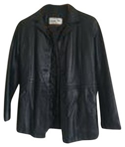 Green Pel Leather Jacket