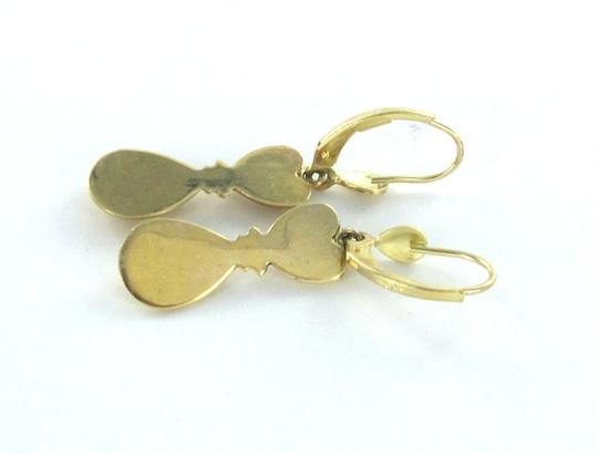 Other 14KT SOLID YELLOW GOLD EARRINGS DANGLE NO STONES FINE JEWELRY 2.0 GRAMS TRENDY
