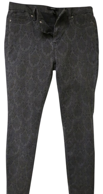 Item - Charcoal Gray with Black Design Pants Size 8 (M, 29, 30)