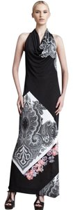 Black Maxi Dress by Etro Paisley Halter Maxi