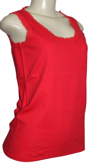 Preload https://item4.tradesy.com/images/adrienne-vittadini-red-collection-scoop-neckline-sleeveless-knit-rib-trim-bottom-tee-shirt-size-14-l-820078-0-0.jpg?width=400&height=650