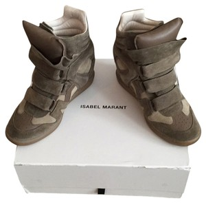 Isabel Marant Taupe Wedges