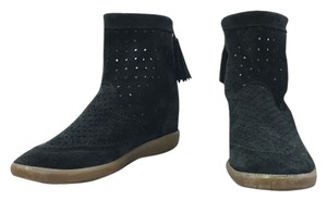 Isabel Marant Boot Wedge Perforated Dark green Boots
