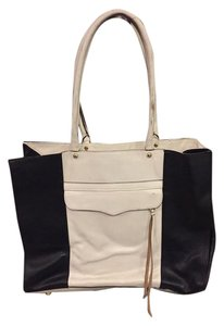 Rebecca Minkoff Tote in white and black