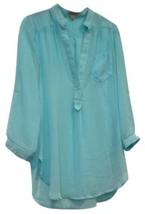 Necessary Clothing Top Light turquoise