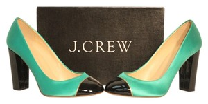 J.Crew Heels Faded Jade Pumps