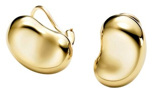 Tiffany & Co. Tiffany & Co Elsa Peretti Bean ear clips in 18 karat gold