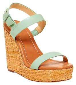 Kate Spade Seafoam Green Wedges