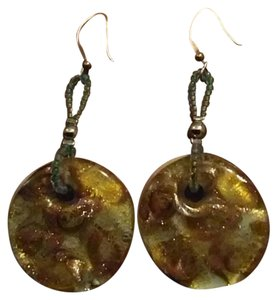 Murano Murano Venetian Glass Earrings