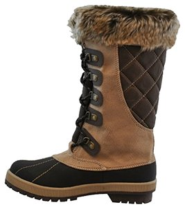 Zelus Boot Snow Boot Women's Tan Boots